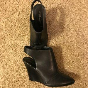 BCBG Wedge heel booties